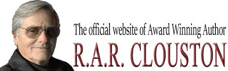 RAR Clouston – Award Winning Author Logo