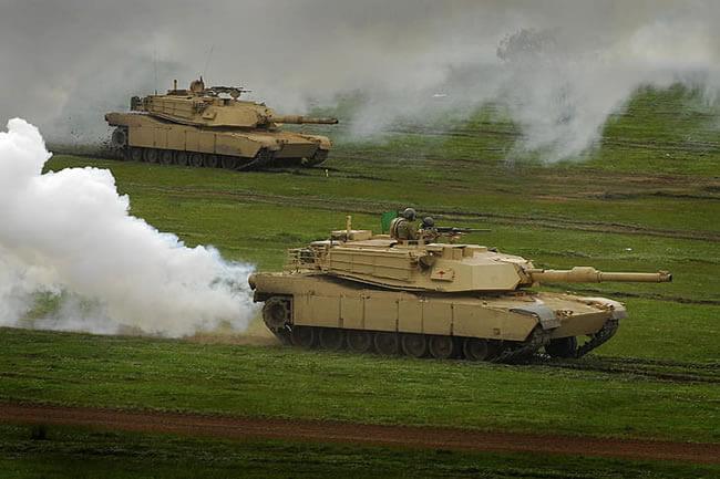 American M1 Abrams